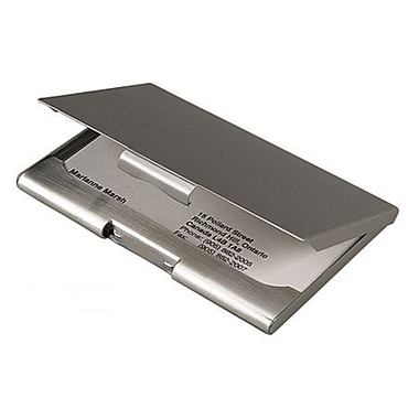 Elegance Executive Business Card Holder Case-Satin