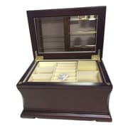 Elegance Wood Jewellery Box, Soya-Anti-Tarnish Felt