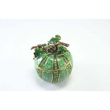 Elegance Melon Shaped Jewellery Box