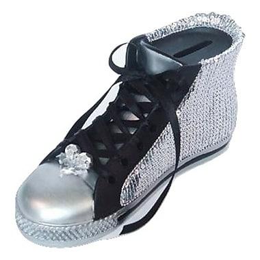 Elegance – Tirelire en forme de chaussure noire