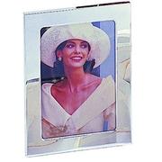 Elegance – Cadre photo 3 x 5 po plaqué argent