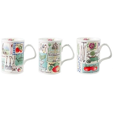 Roy Kirkham Lancaster Mug, My Garden, Set of 6