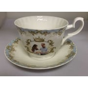 Roy Kirkham Breakfast Cup/Saucer, Prince George, Set of 2
