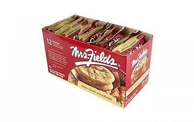 Mrs. Fields White Chunk Macadamia 12 Count