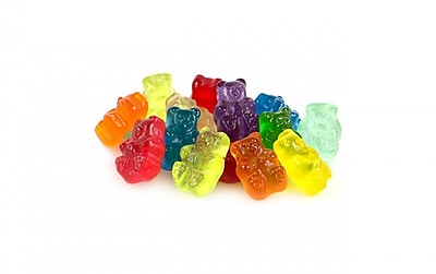 Image of 12 Flavor Assorted Gourmet Gummi Bears, 1 LB