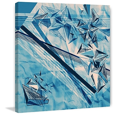 Marmont Hill 'Hidden Stars' Painting Print on Wrapped Canvas; 32'' H x 32'' W x 1.5'' D