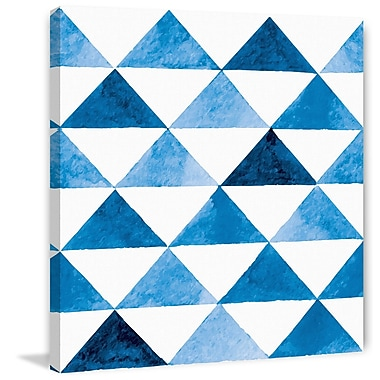 Marmont Hill 'Geometric Plan' Painting Print on Wrapped Canvas; 32'' H x 32'' W x 1.5'' D