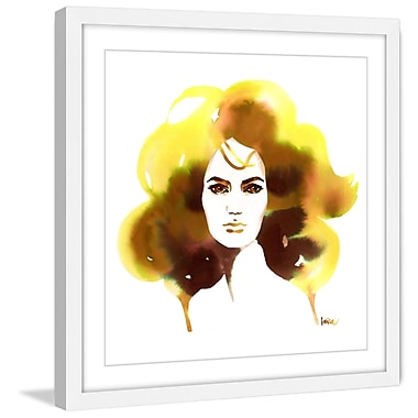 Marmont Hill 'Blonde Ambition' by Lovisa Oliv Framed Painting Print; 18'' H x 18'' W x 1.5'' D