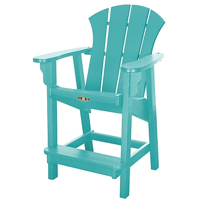 Pawleys Island Sunrise Dining Arm Chair; Turquoise