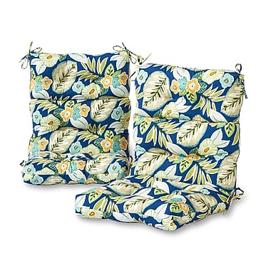 Greendale Home Fashions Outdoor Lounge Chair Cushion (Set of 2)