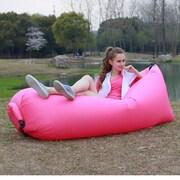 Koolulu Inflatable Couch; Pink