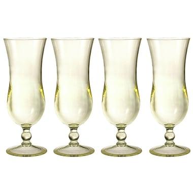 Chenco Inc. Hurricane Glass 16 oz. Drinkware Set (Set of 4)