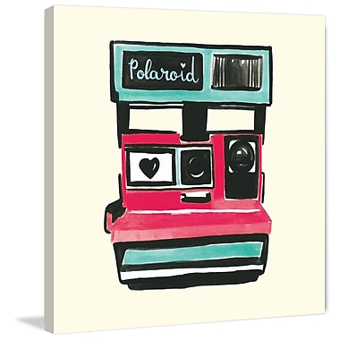 Marmont Hill 'Polaroid' by Molly Rosner Painting Print on Wrapped Canvas; 18 H x 18 W x 1.5 D