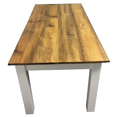 Ezekiel and Stearns Dining Table; White