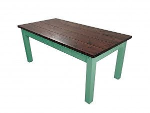 Ezekiel and Stearns Charleston Dining Table; Green