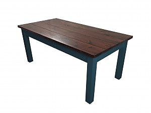 Ezekiel and Stearns Charleston Dining Table; Navy