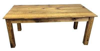 Ezekiel and Stearns Dining Table; Barnwood