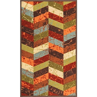 Well Woven Kings Court Red Area Rug; 1'8'' x 5'