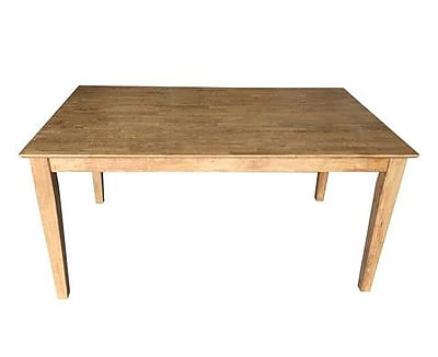 Ezekiel and Stearns Early American Shaker Dining Table
