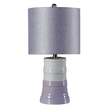 kangaroo trading company 22.75'' Table Lamp Set (Set of 2); Plum