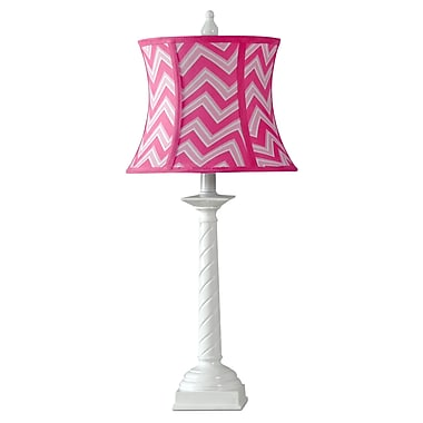 kangaroo trading company 26.25'' Table Lamp; Passion Pink