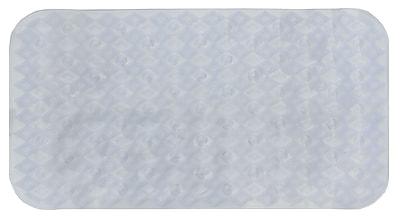 AttractionDesignHome Non-Slip Shower Mat; White