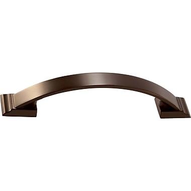 Amerock Candler Arch Pull; Caramel Bronze