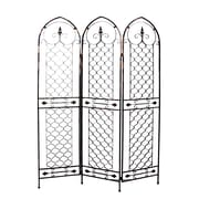 Firefly Home Collection 71.25'' x 48.5'' Modern 3 Panel Room Divider