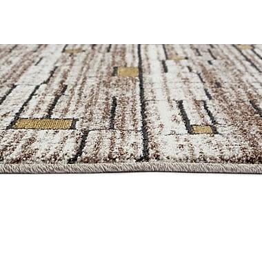 Persian-rugs Beverly Brown/Tan Area Rug; Runner 2'2'' x 7'6''