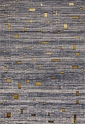Persian-rugs Beverly Gray Area Rug; 9' x 12'6''
