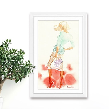 Marmont Hill 'Summer Breeze' by Lovisa Oliv Framed Painting Print; 24'' H x 16'' W x 1.5'' D