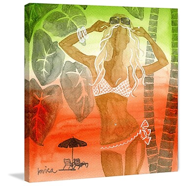 Marmont Hill 'Rio' by Lovisa Oliv Painting Print on Wrapped Canvas; 48'' H x 48'' W x 1.5'' D