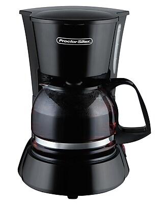 Proctor-Silex 4 Cup Coffeemaker; Black WYF078279203094