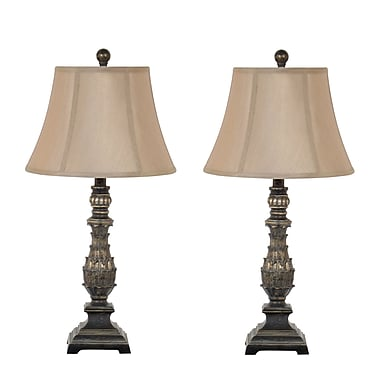 Homestyle Collection 27'' Table Lamp (Set of 2)