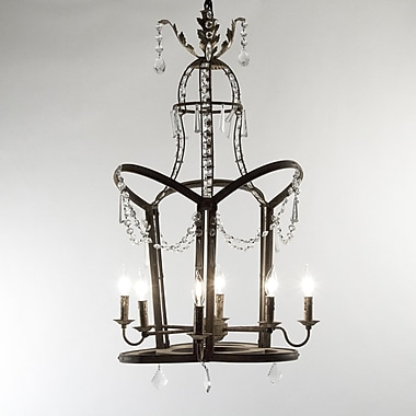 Zentique Garland 6-Light Candle-Style Chandelier
