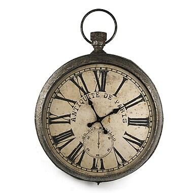 Zentique Iron Clock