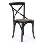 Zentique Inc. Parisienne Side Chair; Black