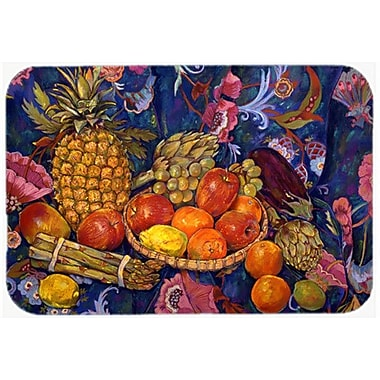 Caroline's Treasures Fruit and Vegetables Glass Cutting Board