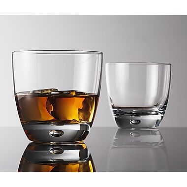 Flato Home Ambiance 10 oz. Double Old Fashioned Glass (Set of 4)
