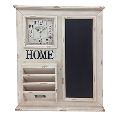 Crestview Home Delivery Table Clock