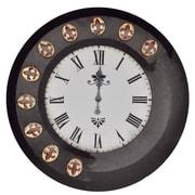 Crestview Time Stands Still 33'' Wall Clock