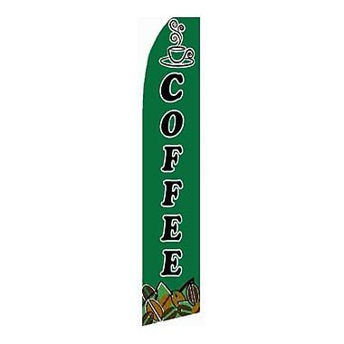 NeoPlex Coffee Swooper Flag
