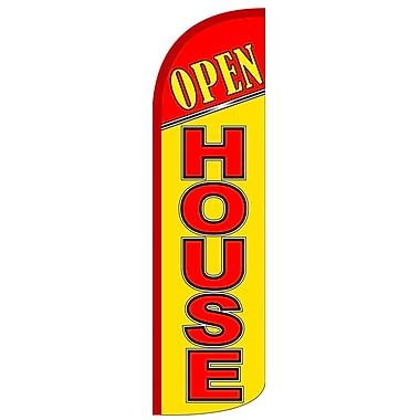 NeoPlex Open House Deluxe Swooper Flag