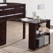 Canwood Furniture Whistler Junior Slide Out Writing Desk; Espresso by
