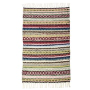 CLM East End Hand-Woven Multi Almond Area Rug