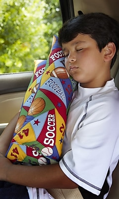 Cruisin and Snoozin Travel Pillow All Sport