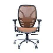 HomCom Deluxe Ergonomic High-Back Mesh Desk Chair; Tan