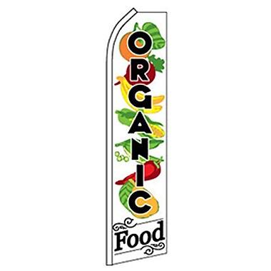NeoPlex Organic Food w/ Produce Swooper Flag