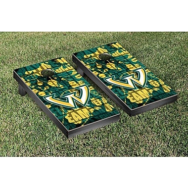 Victory Tailgate NCAA Fight Song Version Cornhole Game Set; Wayne State Warriors