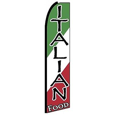 NeoPlex Italian Food Swooper Flag